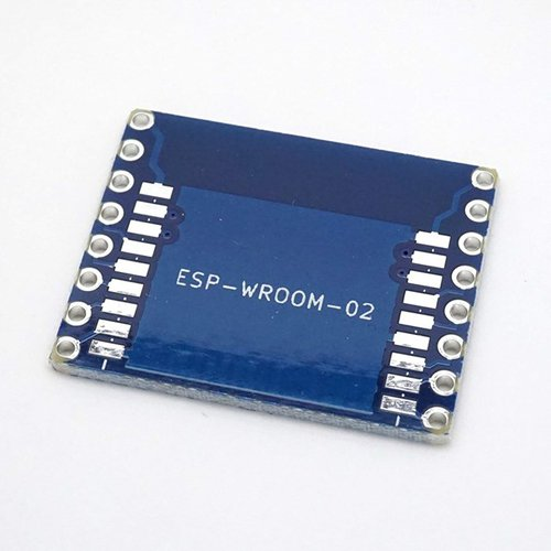 ESP-WROOM-02 ピッチ変換基板 コンパクト