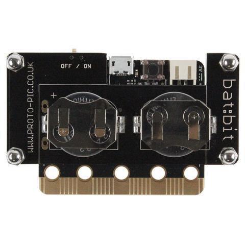 micro:bit用 bat:bit slimバッテリーケース--在庫限り