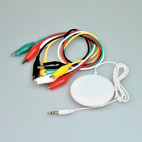 micro:bit用ワニ口クリップとスピーカーのセット