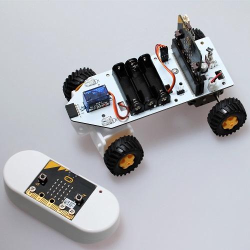 micro:bitラジコンカー