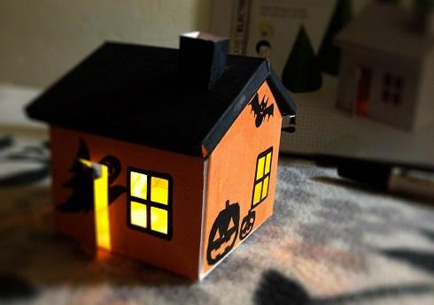 Growing house set halloween