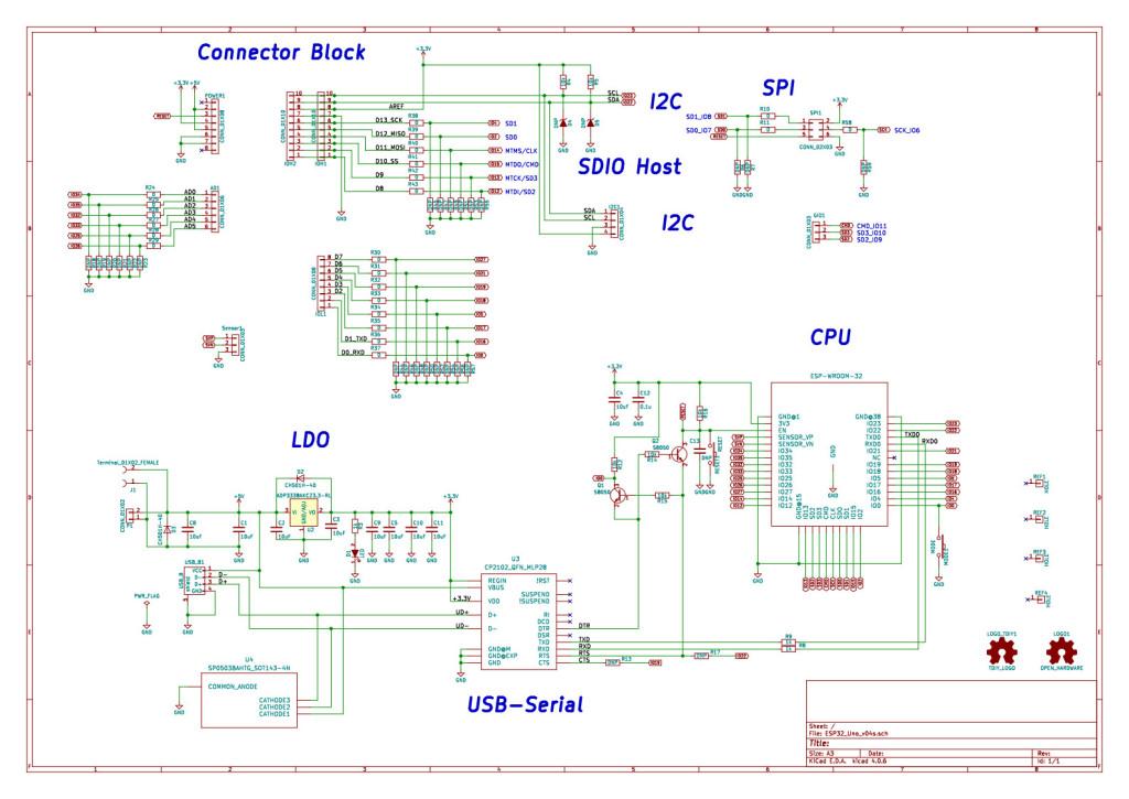 Pin Data Acquisition : Arduino uno型esp wroom breakout board quot unopuino s