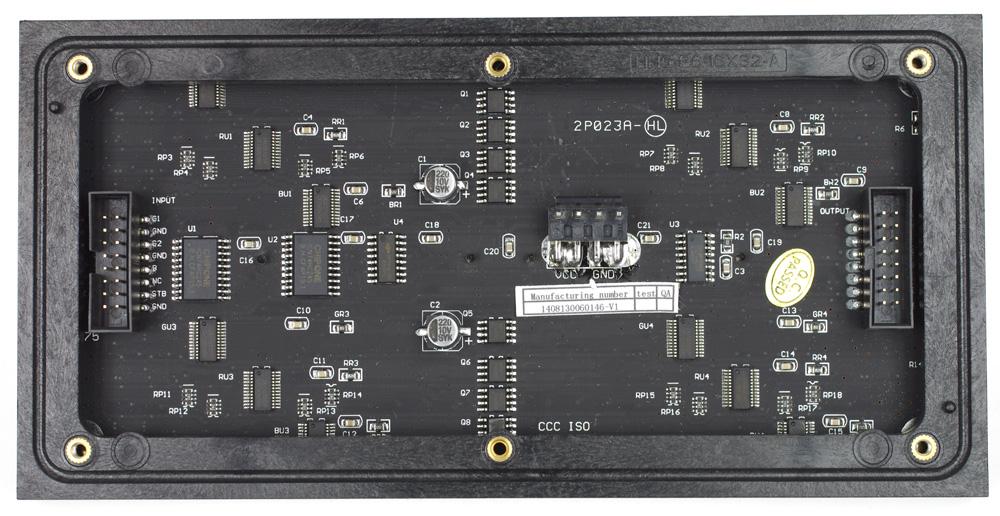 16x32 RGB LED マトリックスパネル - スイッチサイエンス